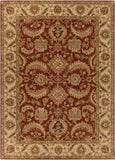 Surya Ancient Treasures A-147 Burgundy Area Rug 8' X 11'
