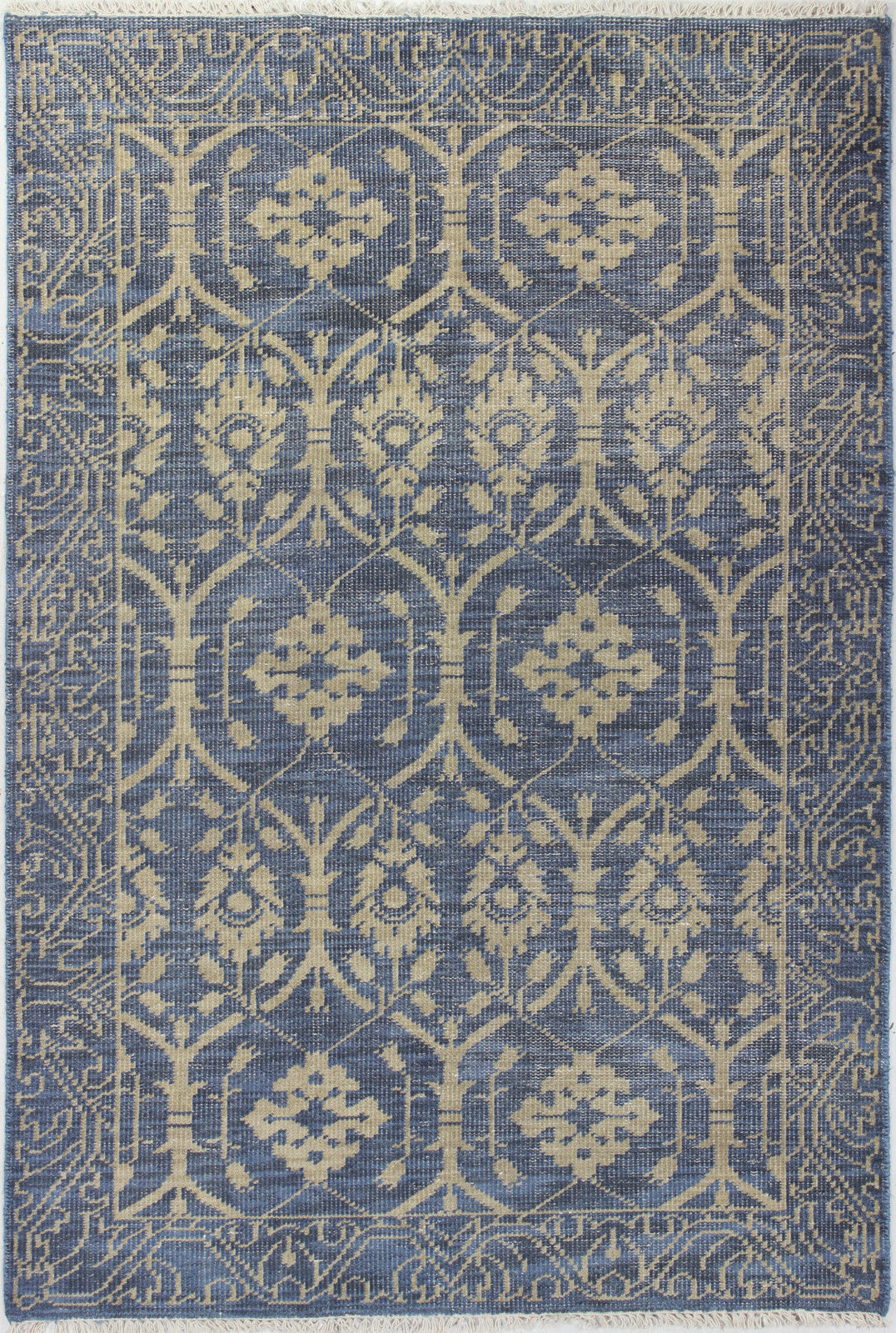 Bashian Artifact A154-AR103 Azure Area Rug