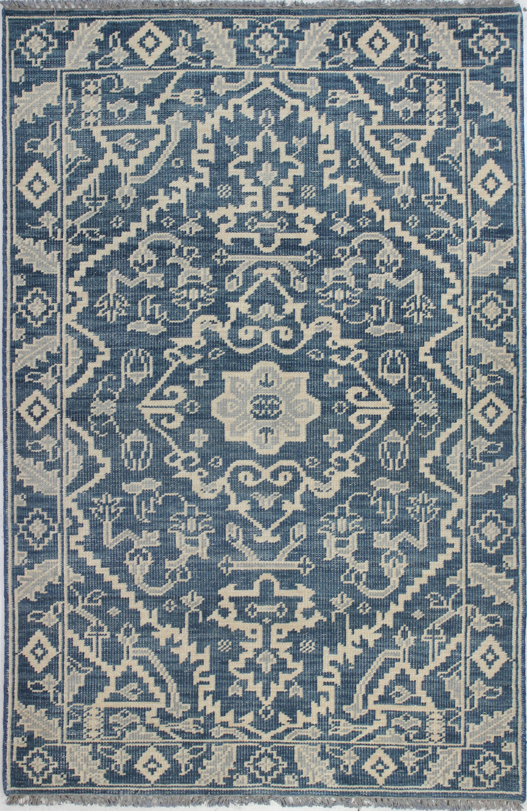 Bashian Artifact A154-AR109 Azure Area Rug