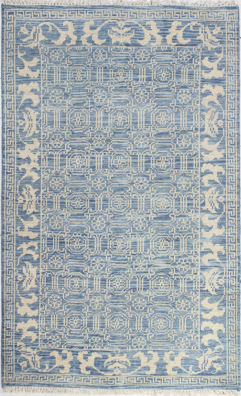 Bashian Artifact A154-AR104 Denim Area Rug