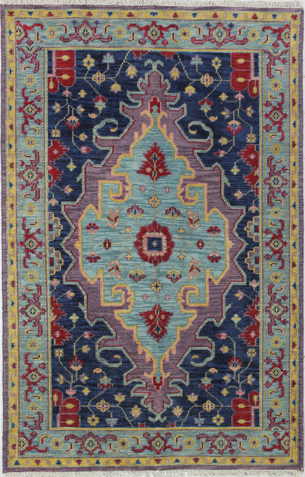 Bashian Artifact A154-AR113 Azure Area Rug main image