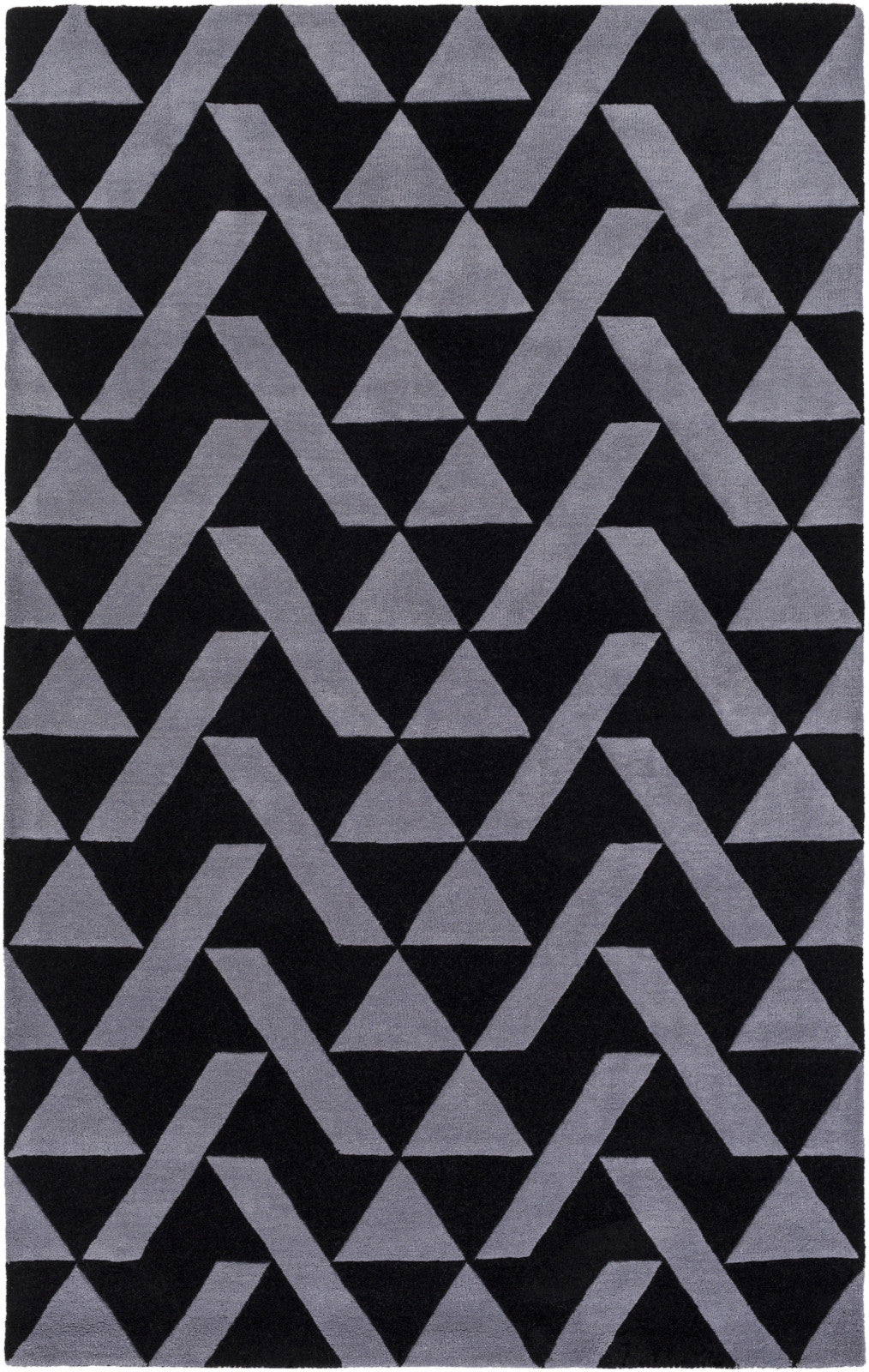 Surya Anagram AAM-2000 Black Area Rug by Alexander Wyly main image