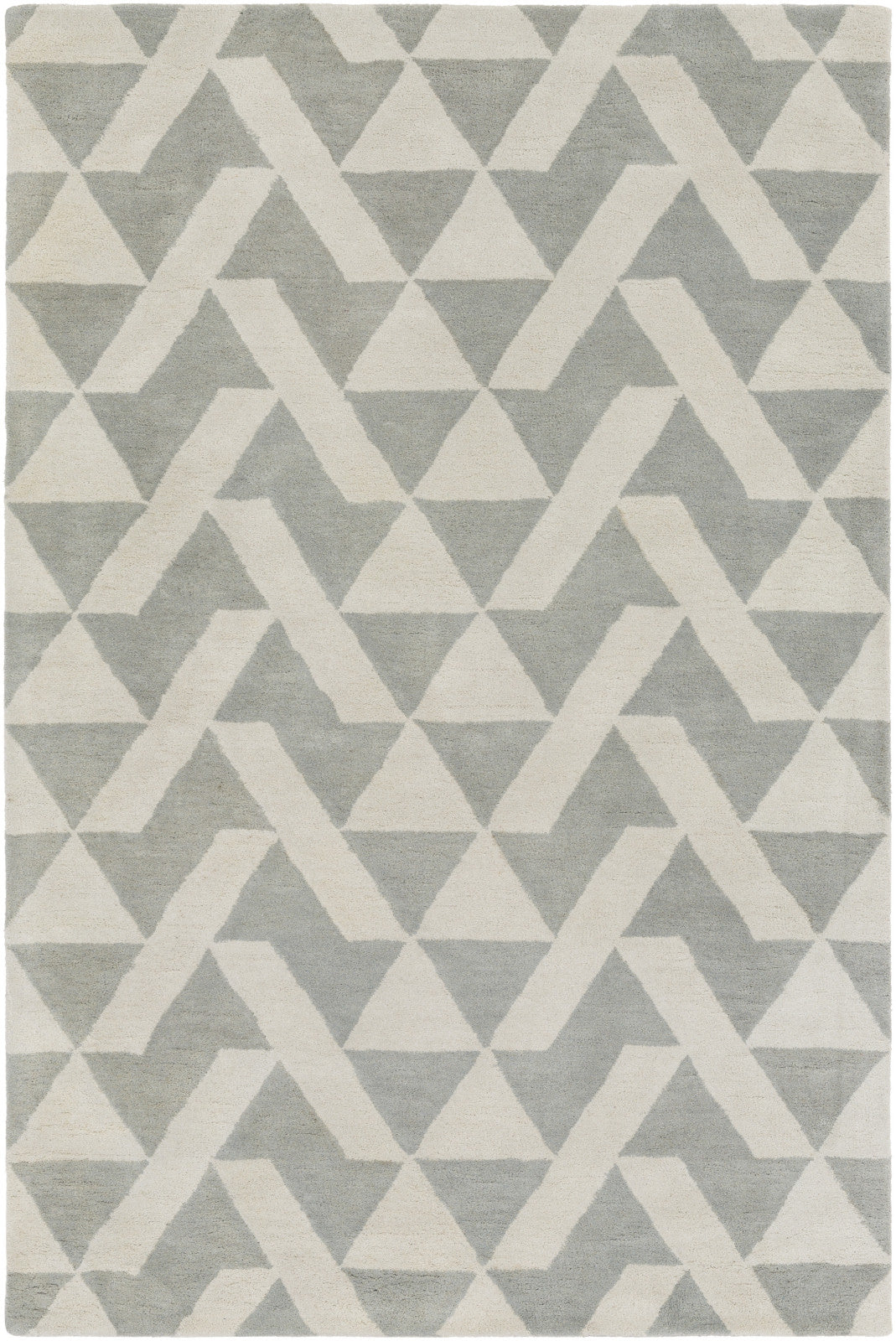 Surya Anagram AAM-2002 Gray Area Rug by Alexander Wyly main image