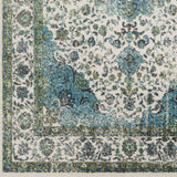 Surya Aberdine ABE-8004 Aqua Area Rug Sample Swatch