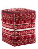 MAT Poufs and Cushions Abramo Red Pouf main image