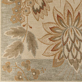 Surya Arabesque ABS-3004 Olive Machine Loomed Area Rug Sample Swatch