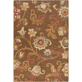 Surya Arabesque ABS-3016 Chocolate Area Rug 5'3'' x 7'3''