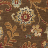 Surya Arabesque ABS-3016 Chocolate Machine Loomed Area Rug Sample Swatch