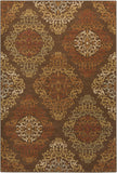 Surya Arabesque ABS-3019 Chocolate Area Rug 5'3'' x 7'3''