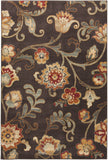 Surya Arabesque ABS-3023 Chocolate Area Rug 5'3'' x 7'3''