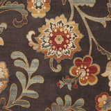 Surya Arabesque ABS-3023 Chocolate Machine Loomed Area Rug Sample Swatch