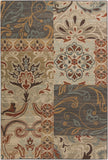 Surya Arabesque ABS-3026 Rust Area Rug 5'3'' x 7'3''