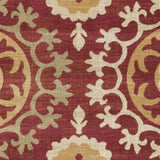 Surya Arabesque ABS-3030 Charcoal Area Rug Sample Swatch