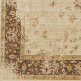 Surya Arabesque ABS-3033 Beige Machine Loomed Area Rug Sample Swatch
