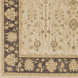 Surya Arabesque ABS-3038 Beige Machine Loomed Area Rug Sample Swatch