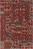 Surya Arabesque ABS-3052 Garnet Area Rug 5'3'' X 7'3''