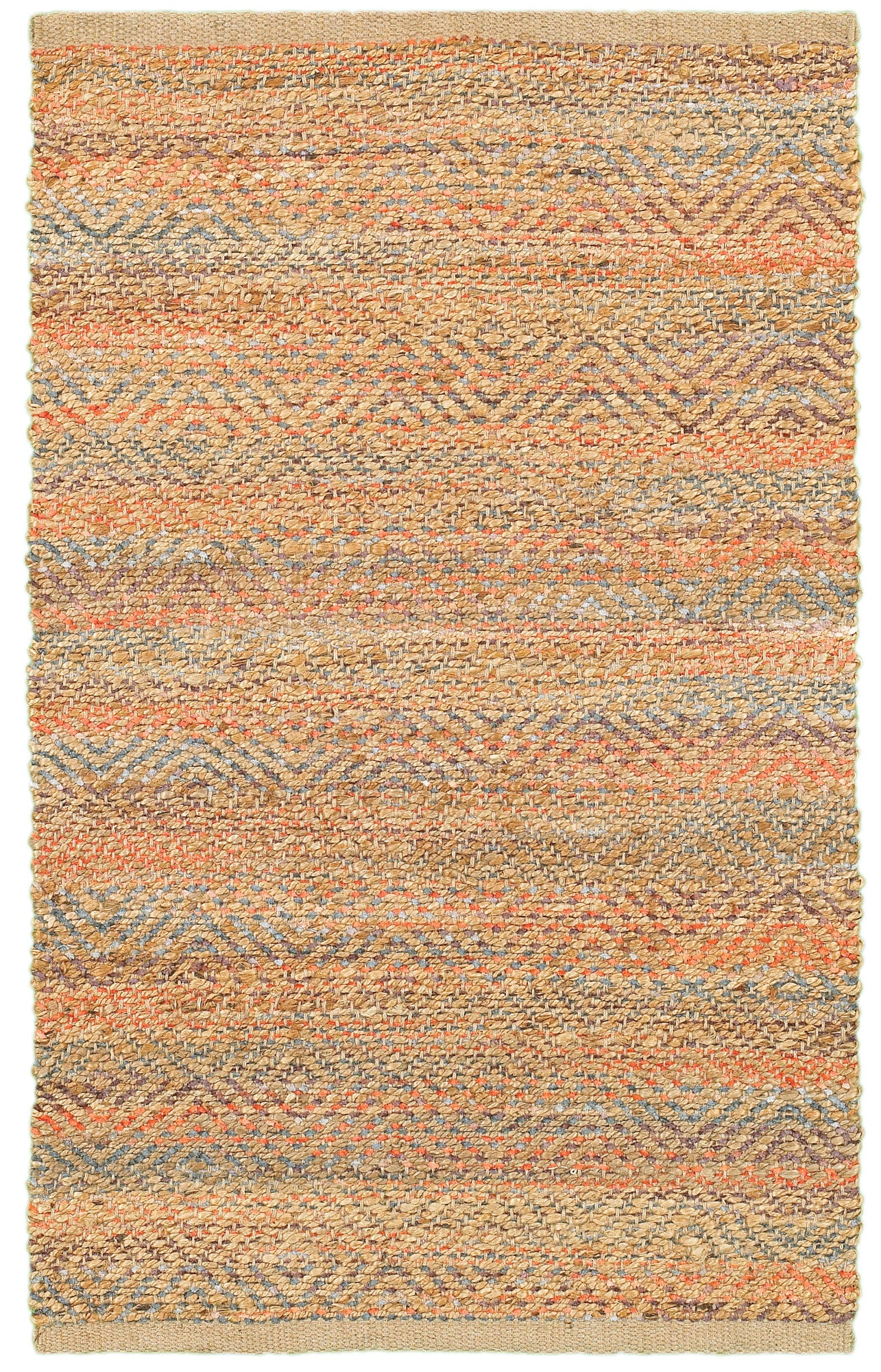 LR Resources Accent 04022 Red Area Rug