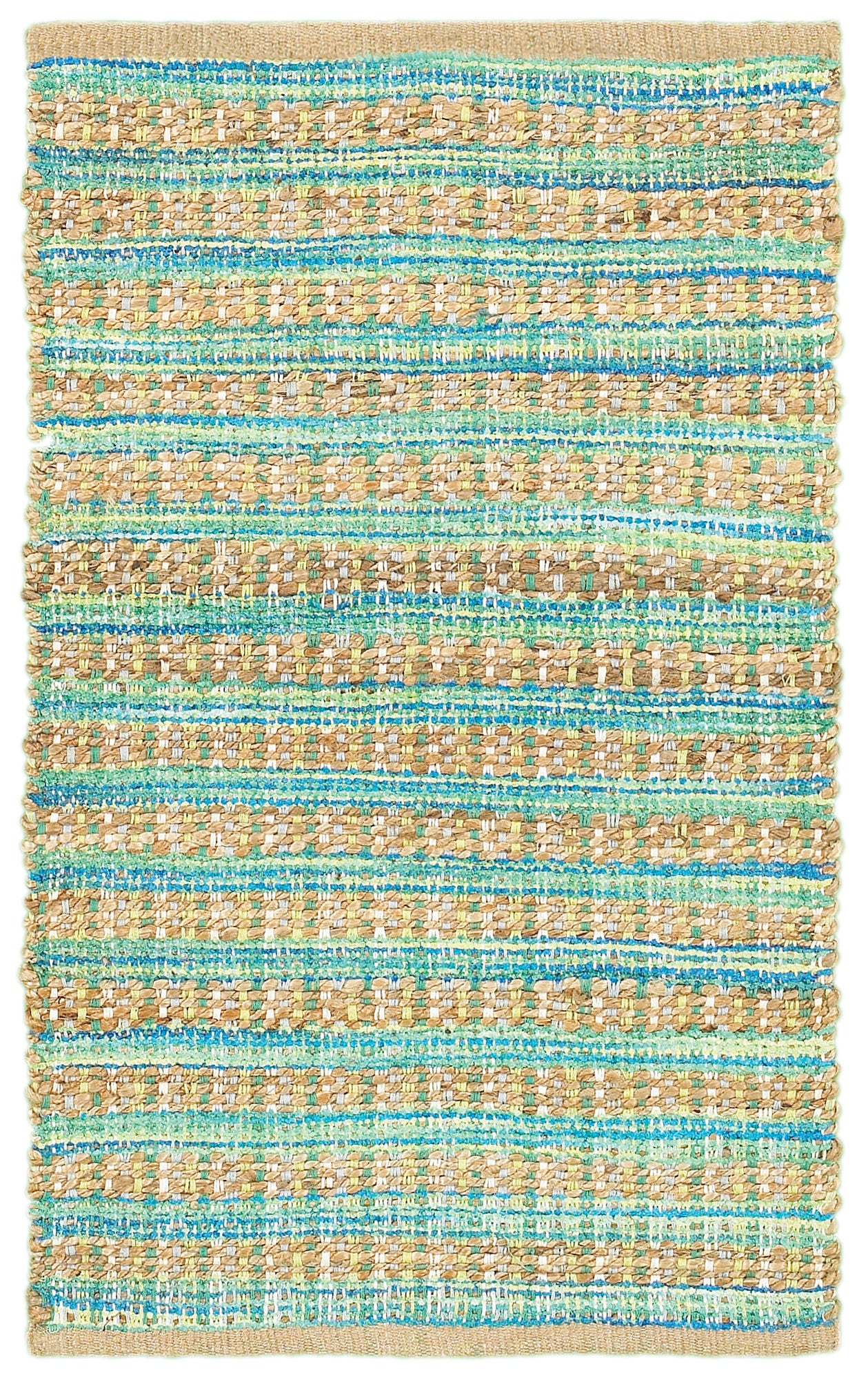 LR Resources Accent 04023 Blue/Green Area Rug