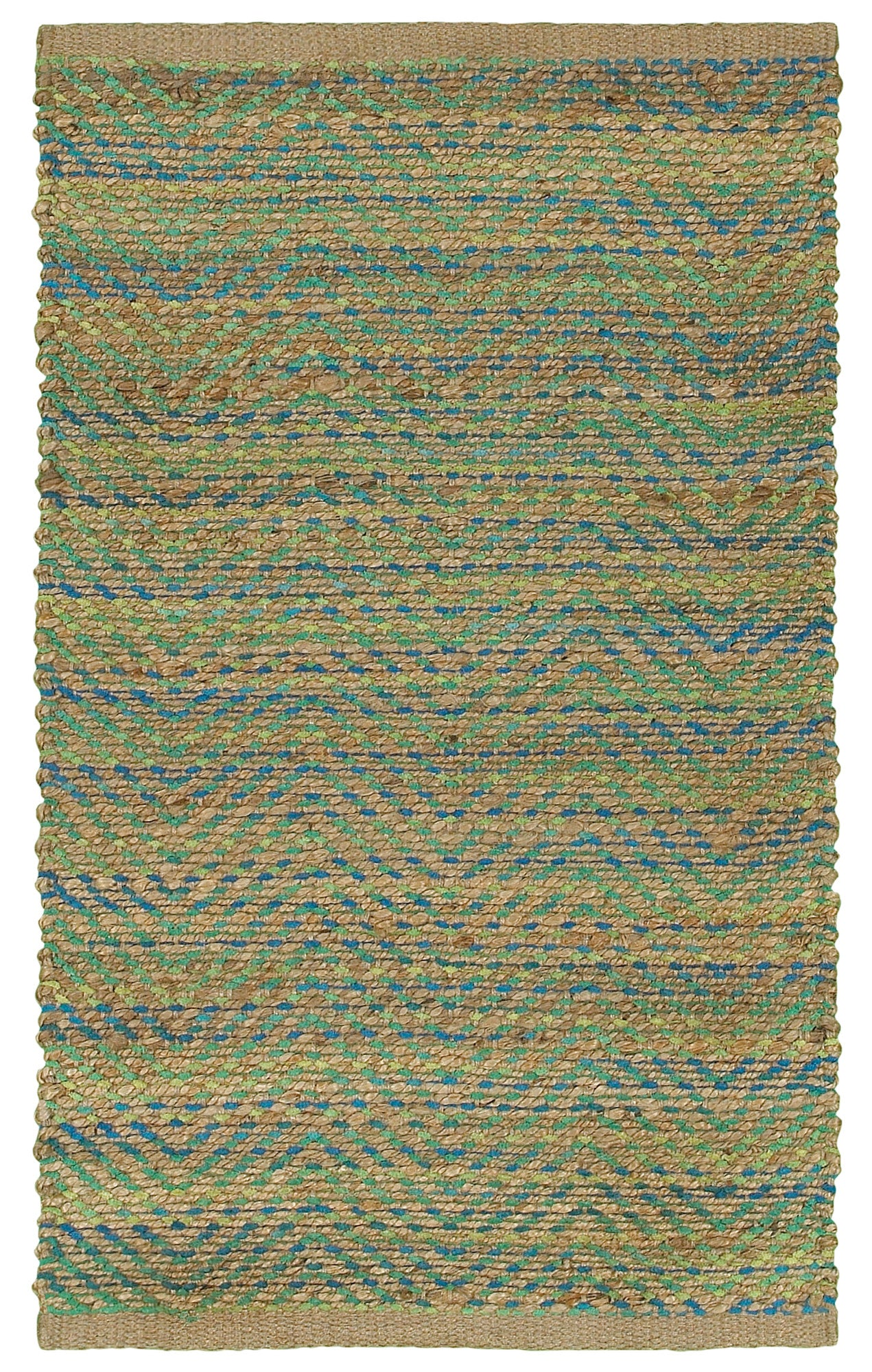 LR Resources Accent 04024 Green/Navy Area Rug