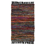LR Resources Accent 04041 Multi Hand Woven Area Rug 2' 6'' X 4'