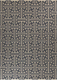 Surya Archive ACH-1700 Navy Area Rug by Smithsonian 8' X 11'