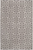 Surya Archive ACH-1702 Taupe Area Rug by Smithsonian 5' x 8'