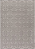 Surya Archive ACH-1702 Taupe Hand Woven Area Rug by Smithsonian 8' X 11'