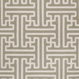Surya Archive ACH-1705 Taupe Hand Woven Area Rug by Smithsonian Sample Swatch