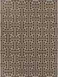 Surya Archive ACH-1710 Chocolate Area Rug by Smithsonian 8' x 11'