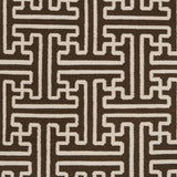 Surya Archive ACH-1710 Chocolate Hand Woven Area Rug by Smithsonian Sample Swatch