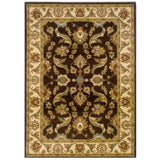 LR Resources Adana 80371 Brown/Cream Area Rug