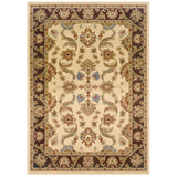 LR Resources Adana 80371 Cream/Brown Area Rug