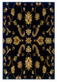 LR Resources Adana 80715 Black Area Rug
