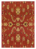 LR Resources Adana 80715 Rust Area Rug