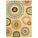 LR Resources Adana 80911 Cream Area Rug