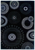 LR Resources Adana 80912 Charcoal Machine Loomed Area Rug 5'3'' X 7'5''