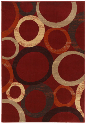 LR Resources Adana 80977 Red Area Rug