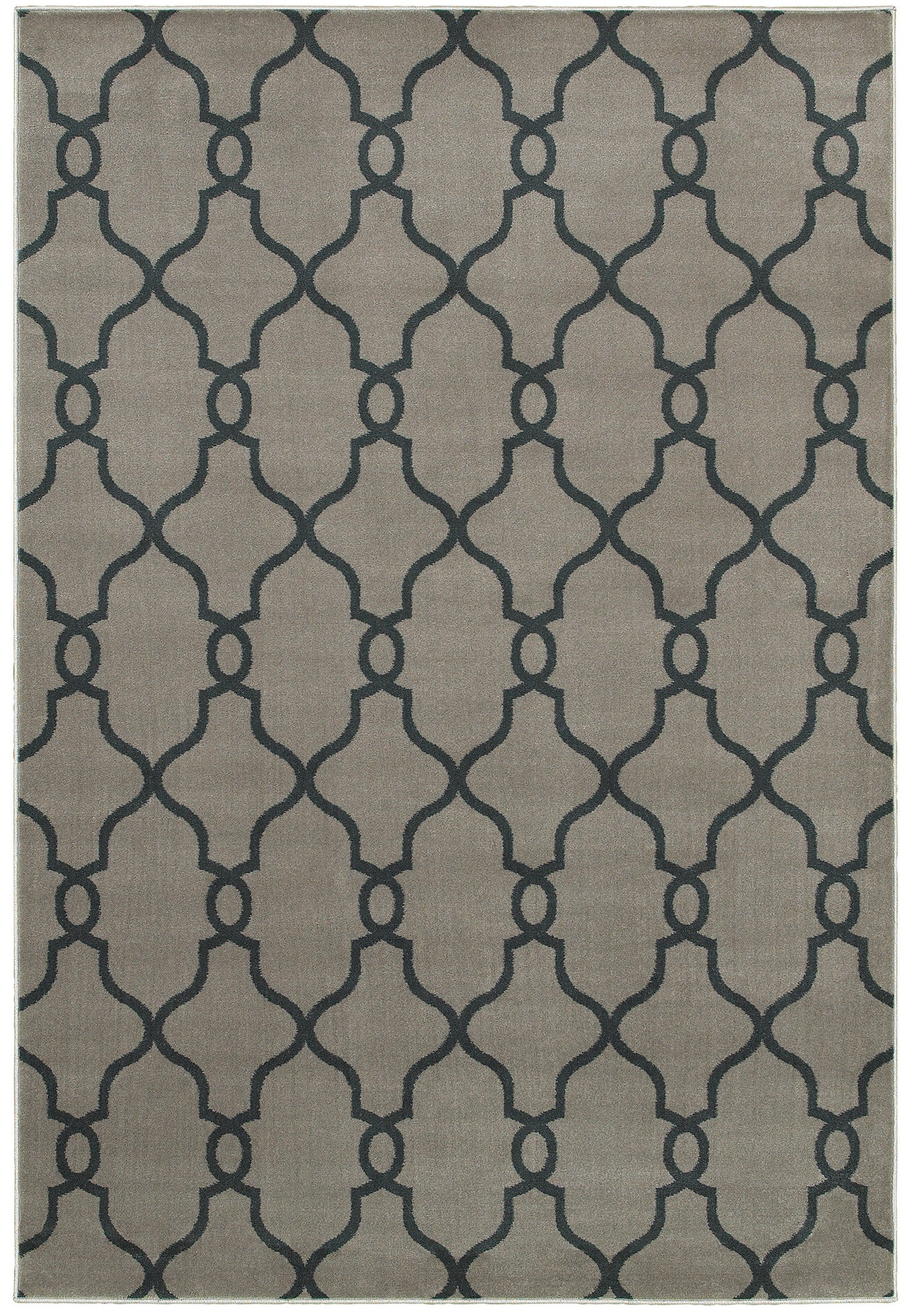 LR Resources Adana 80985 Dark Grey Area Rug