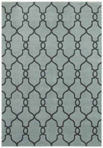 LR Resources Adana 80987 Light Blue Area Rug