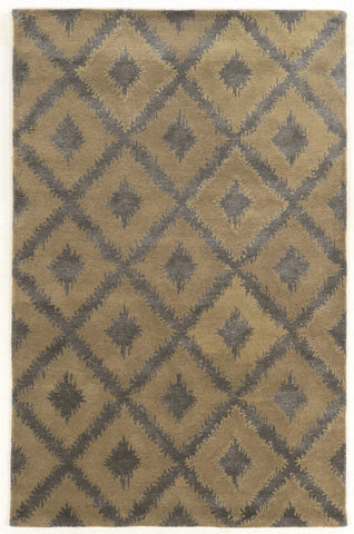 Linon Aspire Collection RUGAE12 Grey/Grey Area Rug main image