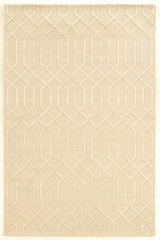 Linon Aspire Collection RUGAE13 Ivory/Ivory Area Rug main image