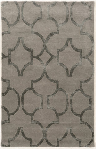Linon Aspire Collection RUGAE20 Slate/Slate Area Rug main image