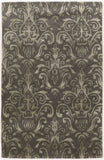 Linon Aspire Collection RUGAE22 Slate/Grey Area Rug main image
