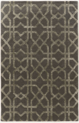 Linon Aspire Collection RUGAE26 Slate/Slate Area Rug main image