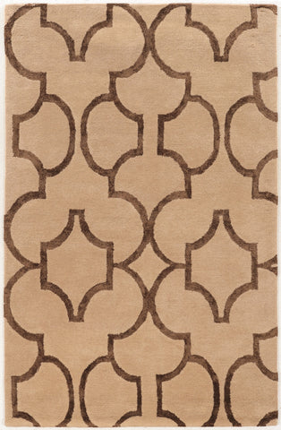 Linon Aspire Collection RUGAE29 Beige/Brown Area Rug main image