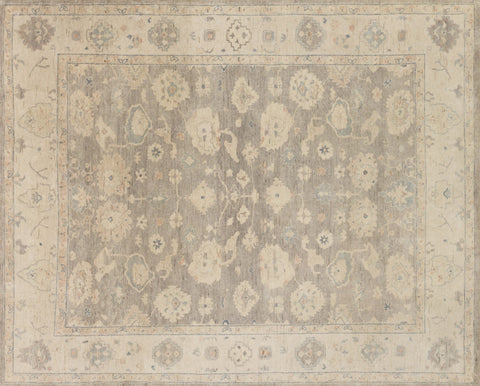 Loloi Vincent VC-07 Silver Area Rug aerial 7-9 x 9-9