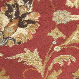 Surya Alfredo AFR-3302 Burgundy Machine Loomed Area Rug Sample Swatch