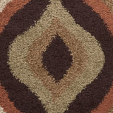 Surya Alfredo AFR-3307 Chocolate Machine Loomed Area Rug Sample Swatch