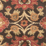 Surya Alfredo AFR-3314 Black Machine Loomed Area Rug Sample Swatch