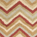 Surya Alfredo AFR-3317 Burgundy Machine Loomed Area Rug Sample Swatch